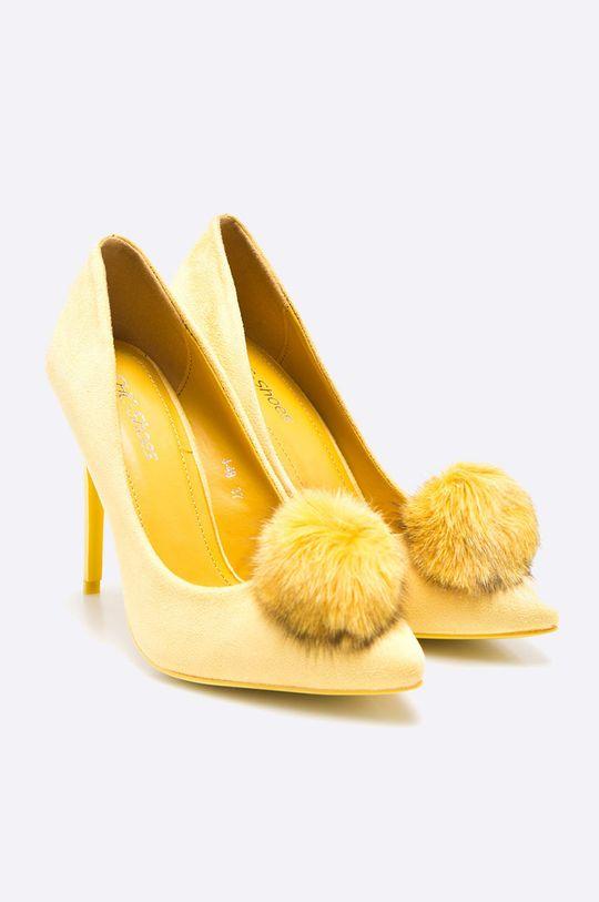 Answear - Lodičky Chc-Shoes žltá