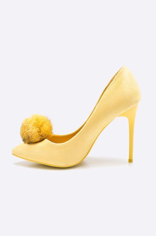 Answear - Lodičky Chc-Shoes <p>Zvršok: Textil Vnútro: Syntetická látka Podrážka: Syntetická látka</p>