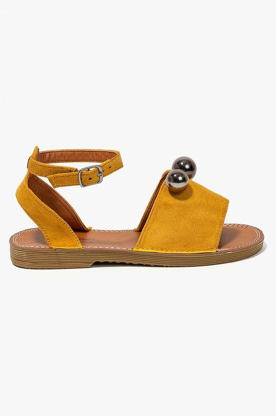 žltá Answear - Sandále Abloom Dámsky