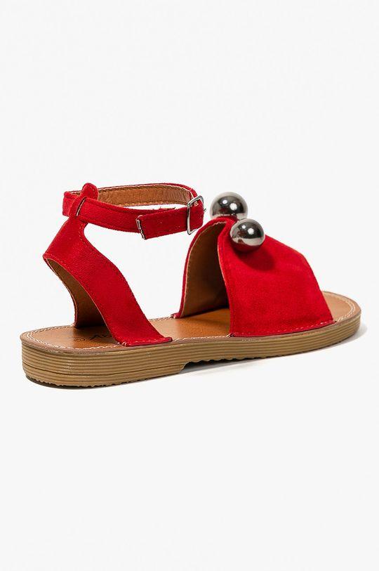 červená Answear - Sandále Abloom
