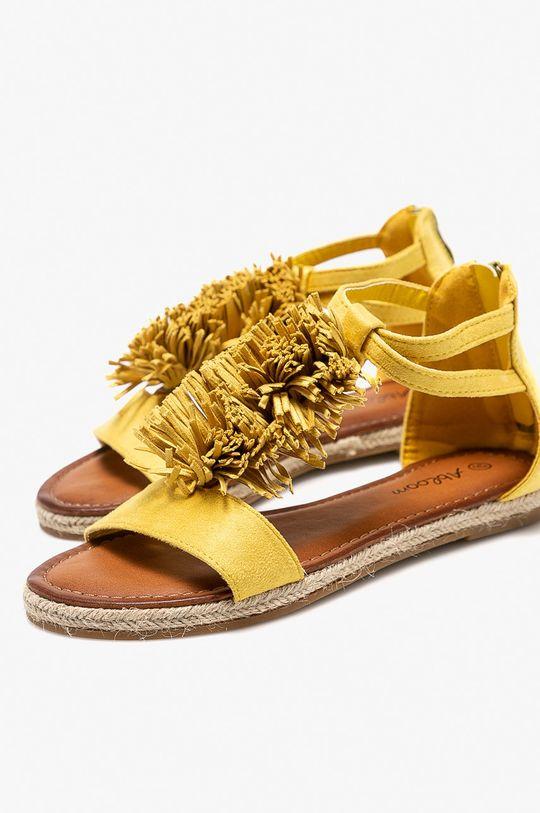 Answear - Sandále Abloom žltá