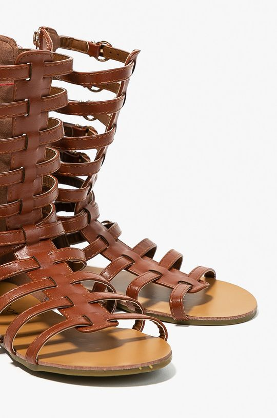 Answear - Sandále Abloom zlatohnedá