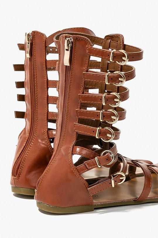 zlatohnedá Answear - Sandále Abloom