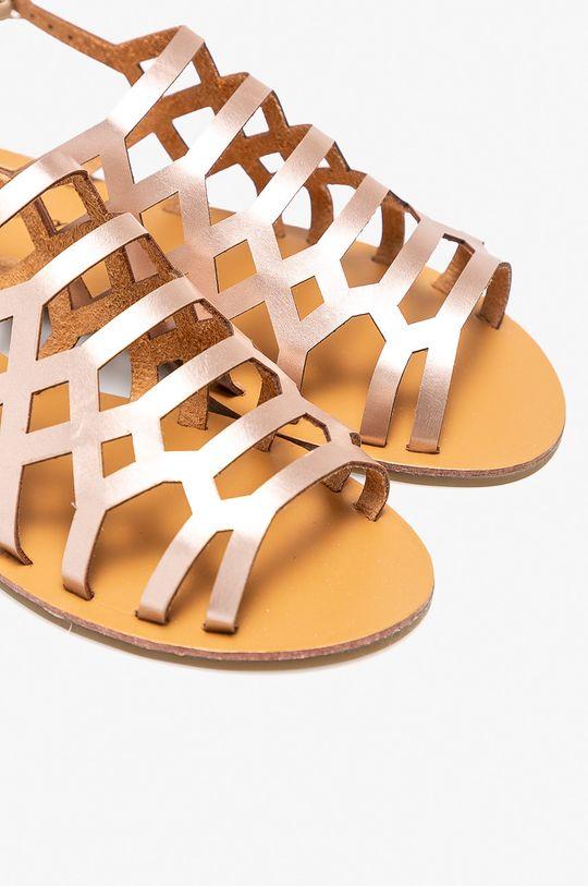 Answear - Sandále Abloom zlatá