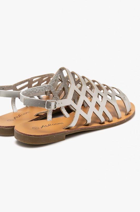 strieborná Answear - Sandále Abloom
