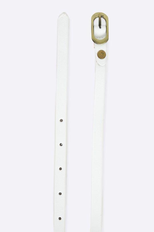Answear - Kožený opasok biela