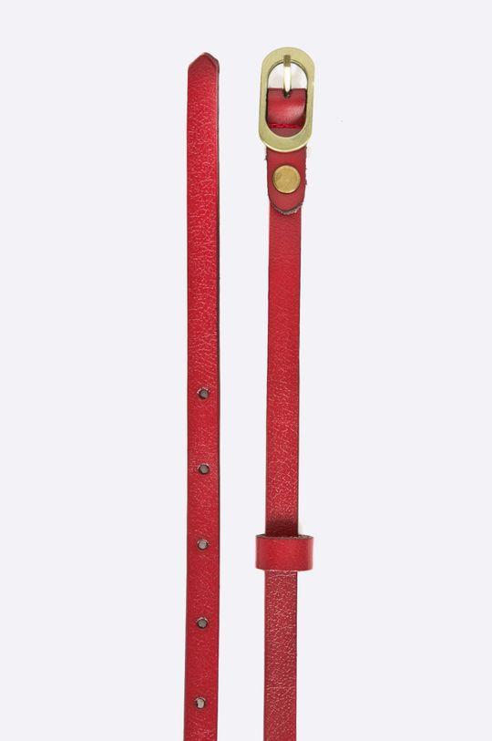 Answear - Kožený opasok červená