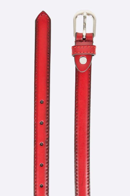 Answear - Kožený opasok Wild Nature červená