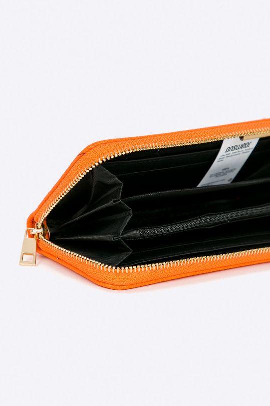 oranžová Answear - Peňaženka