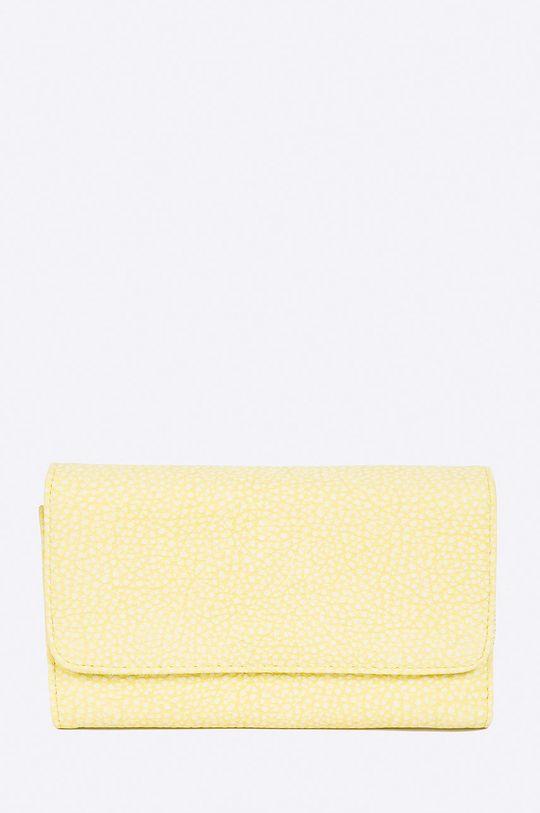 žltá Answear - Peňaženka Wild Nature Dámsky