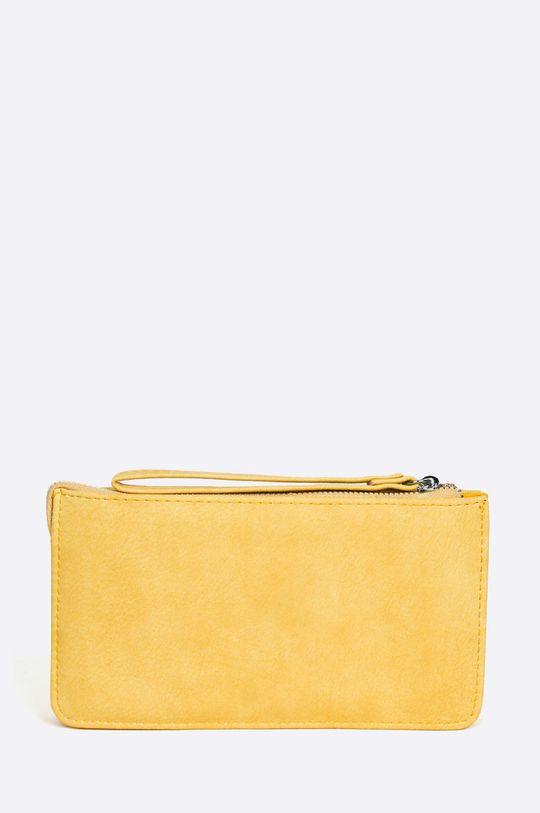 Answear - Peňaženka Stripes Vibes žltá