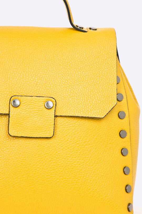 žltá Answear - Kožený ruksak Wild Nature