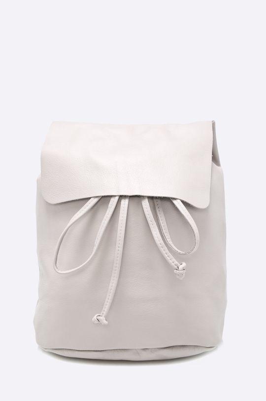 sivá Answear - Kožený ruksak Dámsky