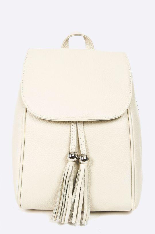 béžová Answear - Kožený ruksak Dámsky