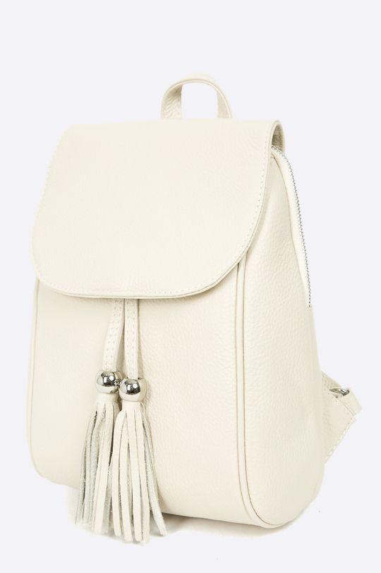 Answear - Kožený ruksak béžová