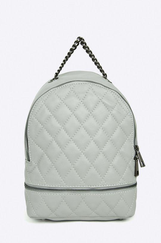 sivá Answear - Kožený ruksak Stripes Vibes Dámsky