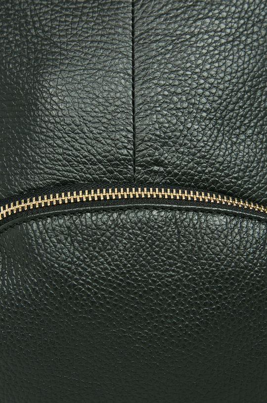 čierna Answear - Kožený ruksak