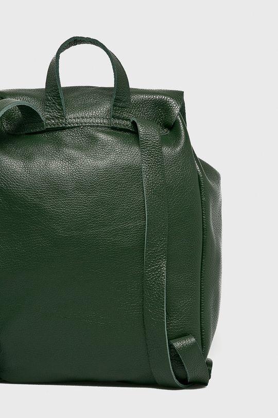 Answear - Kožený ruksak Stripes Vibes <p>100% Prírodná koža</p>