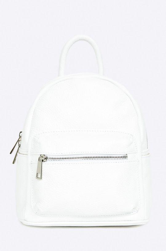 biały Answear Lab - Plecak skórzany Damski