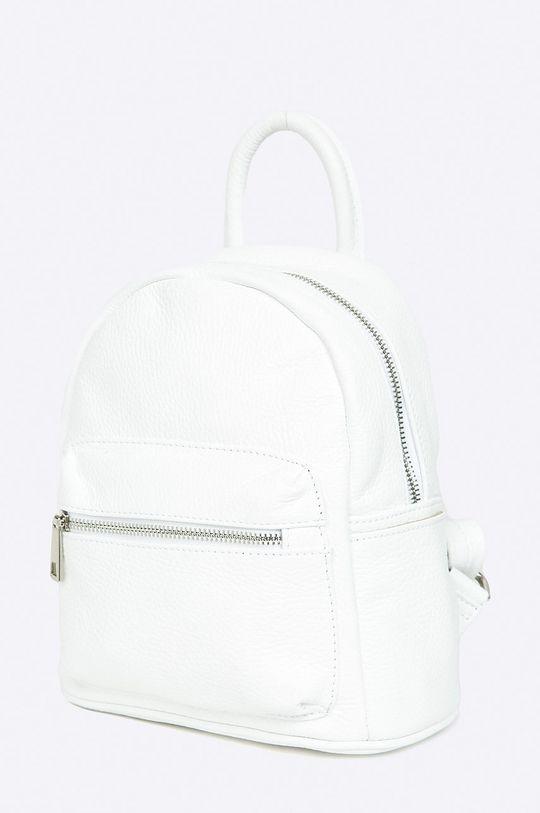 Answear Lab - Plecak skórzany biały