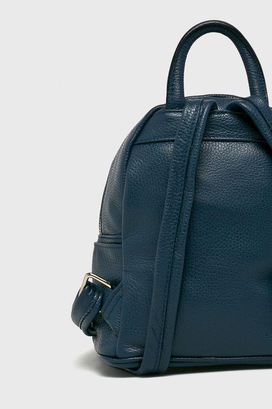 tmavomodrá Answear - Kožený ruksak