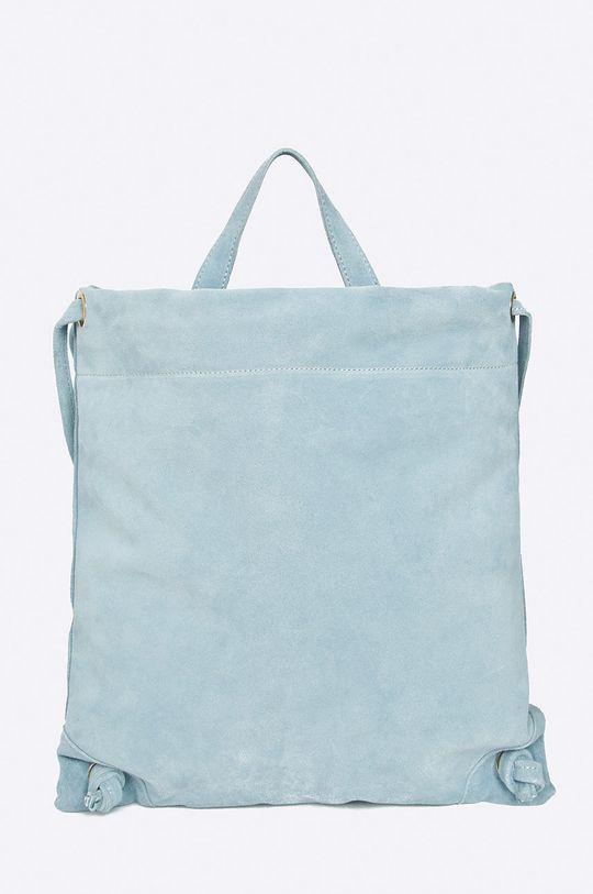 modrá Answear - Kožený ruksak Dámsky