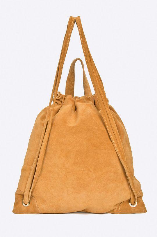 Answear - Kožený ruksak <p>Základná látka: 100% Semišová koža</p>