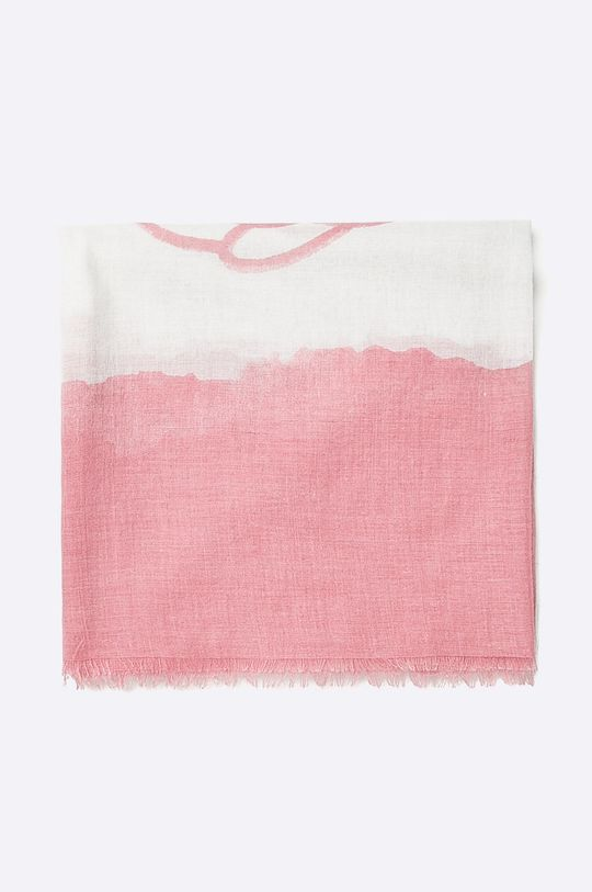 Answear - Šatka Stripes Vibes ružová