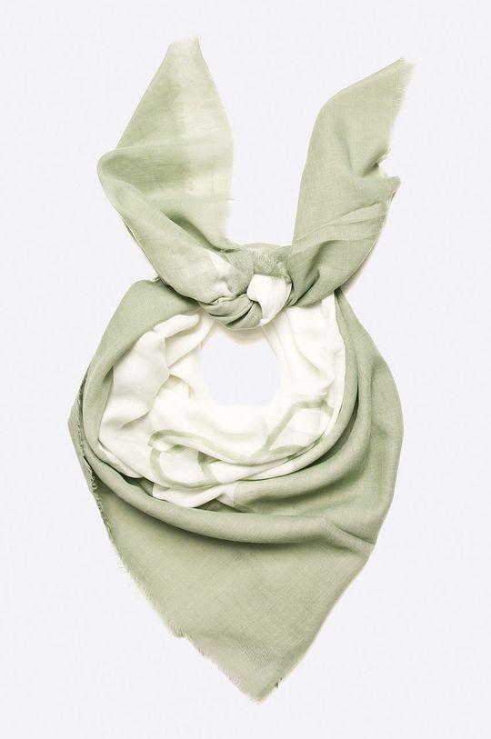 zelená Answear - Šatka Stripes Vibes Dámsky