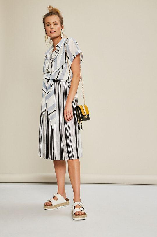 viacfarebná Answear - Sukňa Stripes Vibes Dámsky