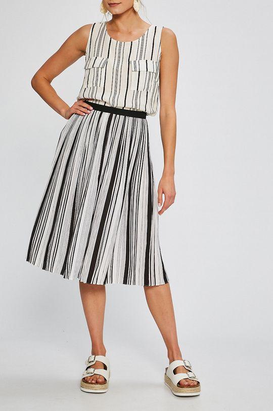 Answear - Sukňa Stripes Vibes viacfarebná