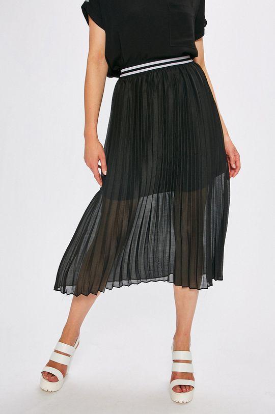 čierna Answear - Sukňa Dámsky