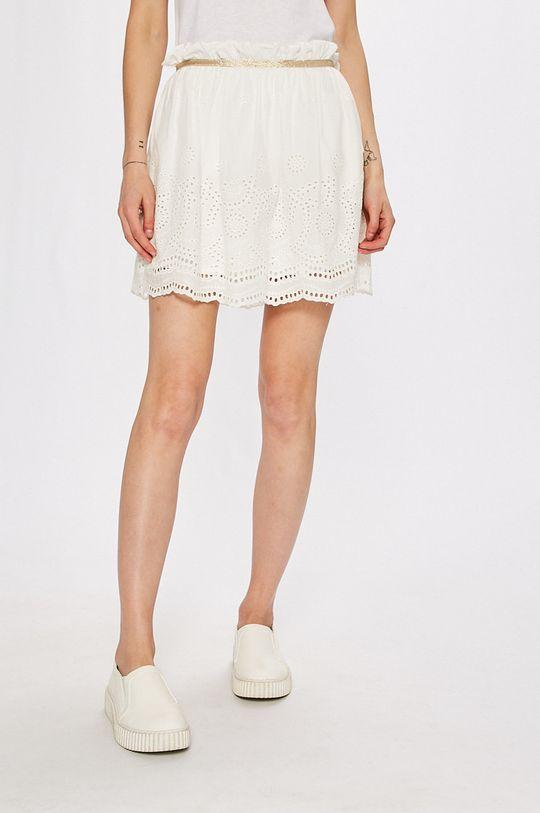 biela Answear - Sukňa Stripes Vibes