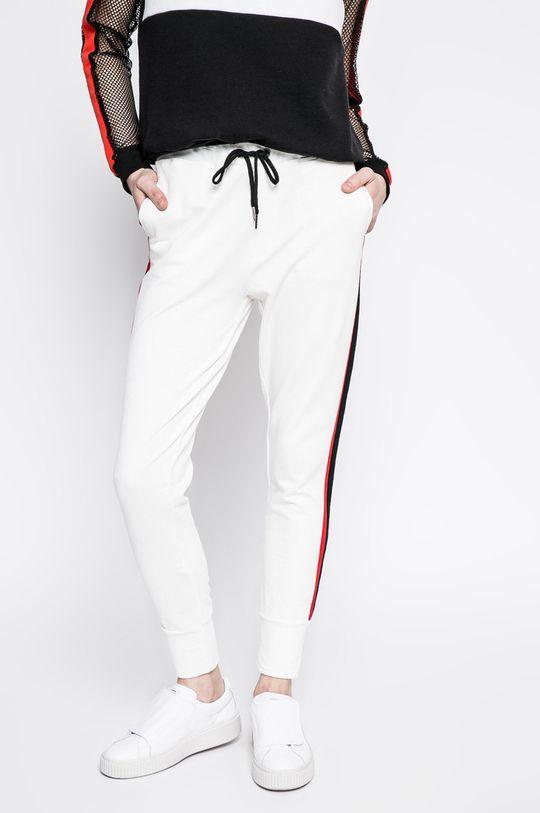 biela Answear - Nohavice Sporty Fusion Dámsky