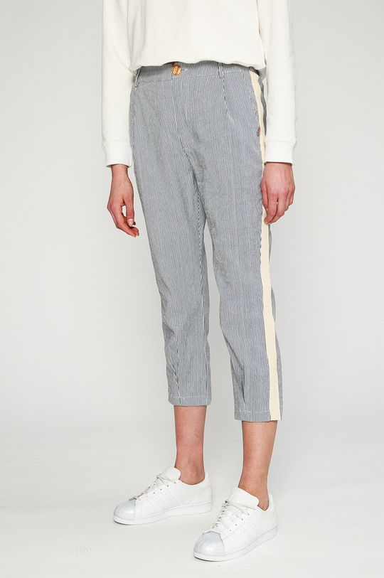 biela Answear - Nohavice Stripes Vibes Dámsky