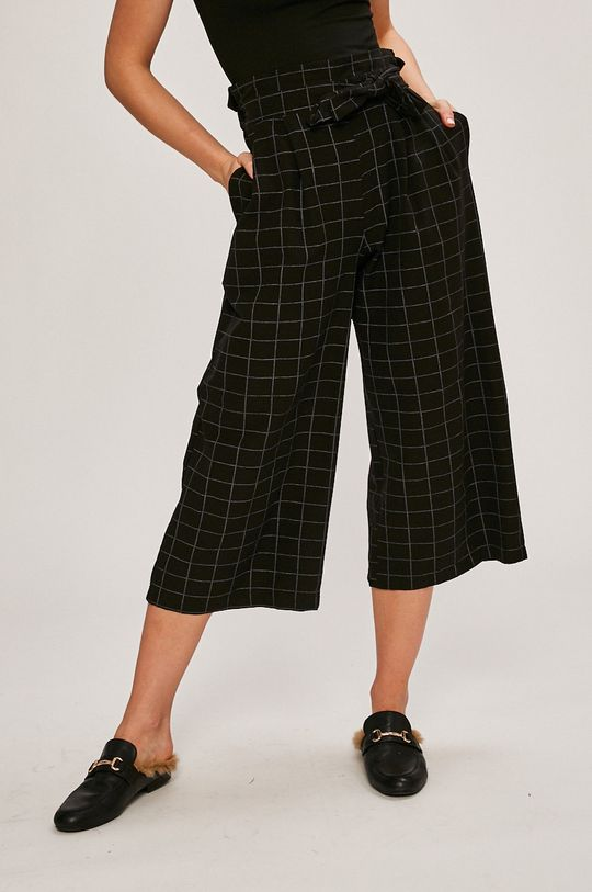 čierna Answear - Nohavice Stripes Vibes Dámsky