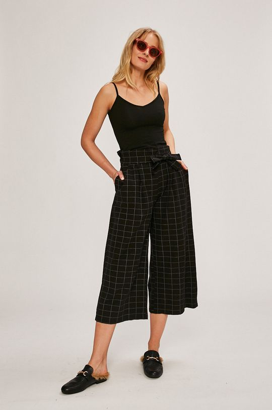 Answear - Nohavice Stripes Vibes čierna