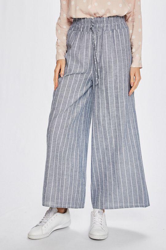 sivá Answear - Nohavice Stripes Vibes Dámsky