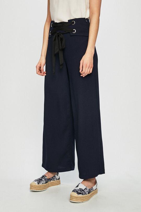 modrá Answear - Nohavice Stripes Vibes Dámsky