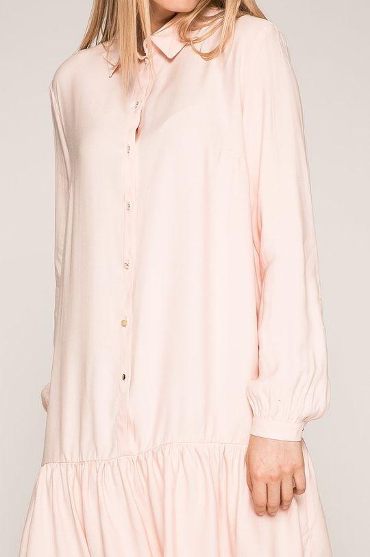 pastelová ružová Answear - Šaty Wild Nature
