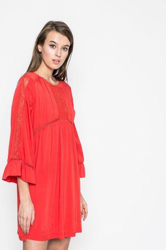 červená Answear - Šaty Rasta Dámsky