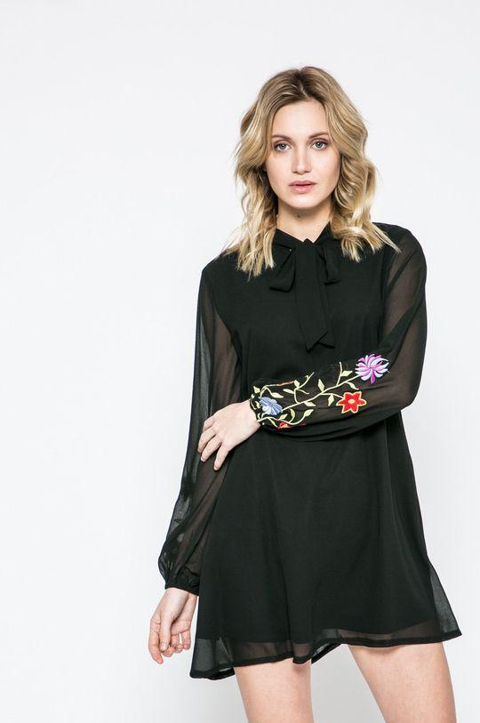 čierna Answear - Šaty Dámsky