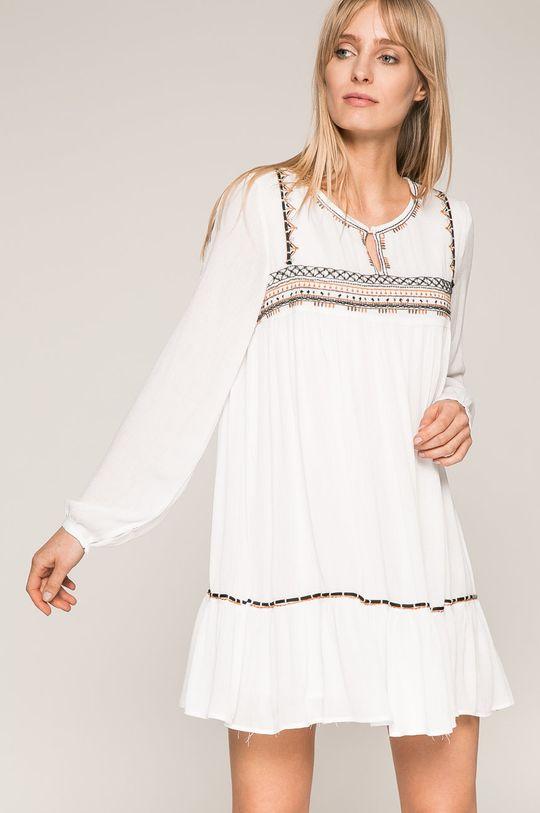 biela Answear - Šaty Wild Nature Dámsky