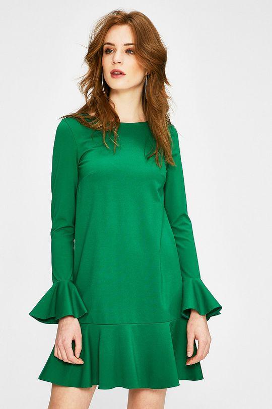 zelená Answear - Šaty Dámsky