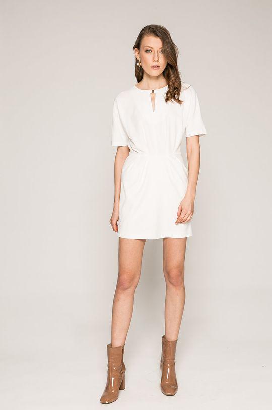 Answear - Šaty Spencer biela