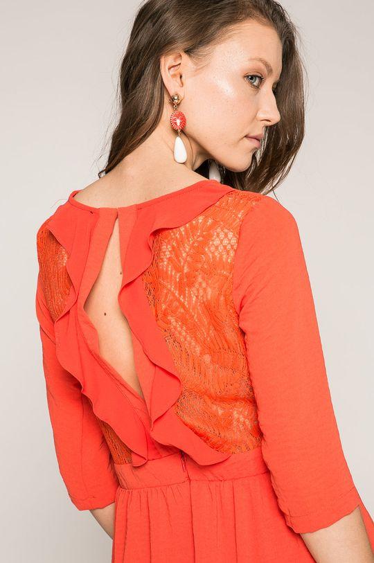 červená Answear - Šaty Durok