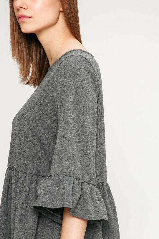 sivá Answear - Šaty