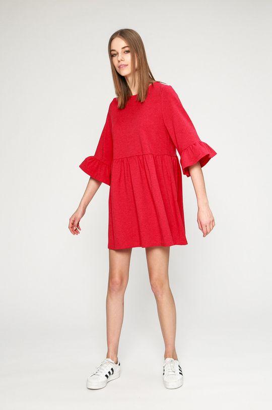 Answear - Šaty karmínová