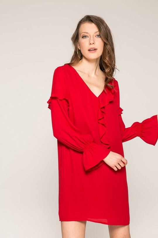 červená Answear - Šaty Dámsky