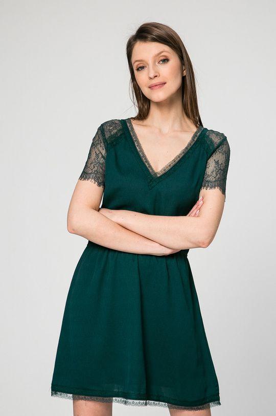 zelená Answear - Šaty Ines Dámsky